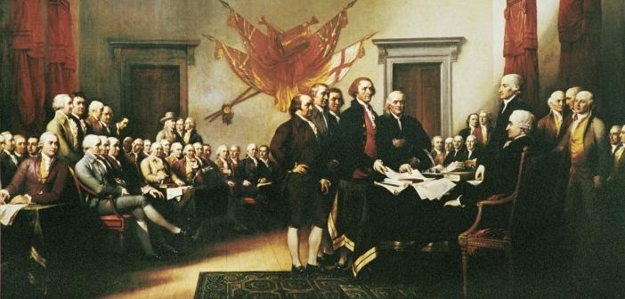 Direitos Humanos Declaração Independência EUA