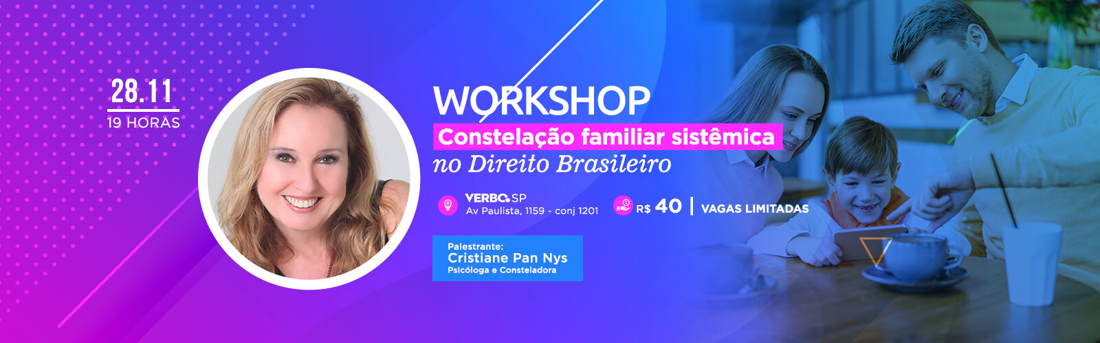 Workshop em SP - Constelação Familiar Sistêmica