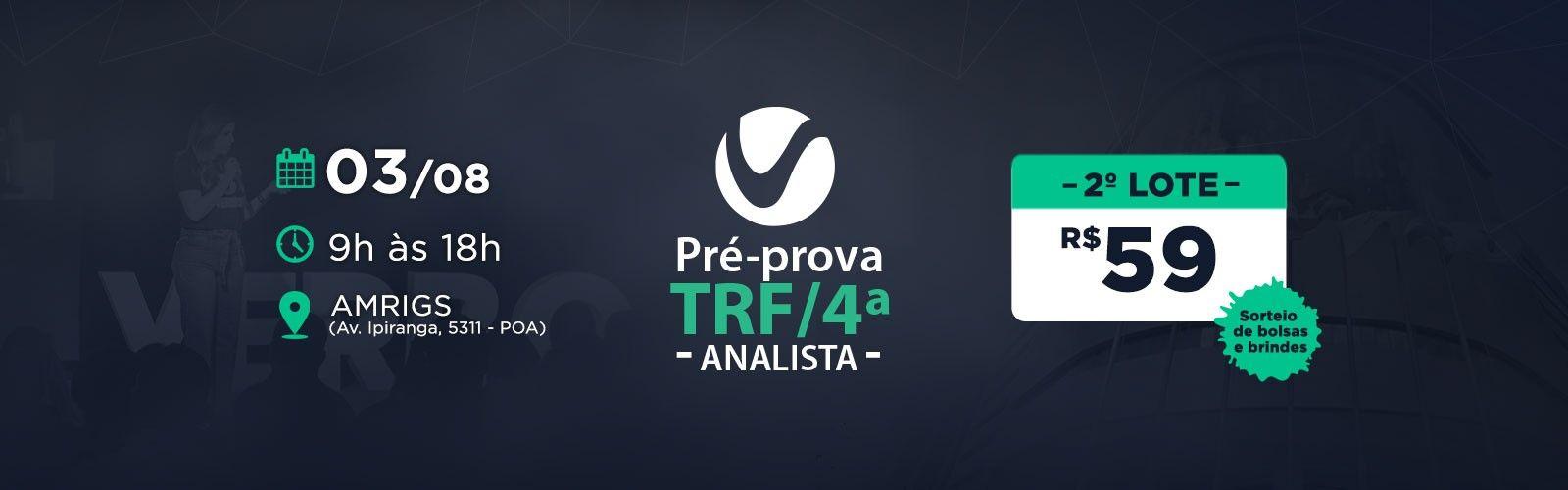Aulão TRF/4ª