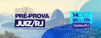 Aulão Pré-prova TJRJ