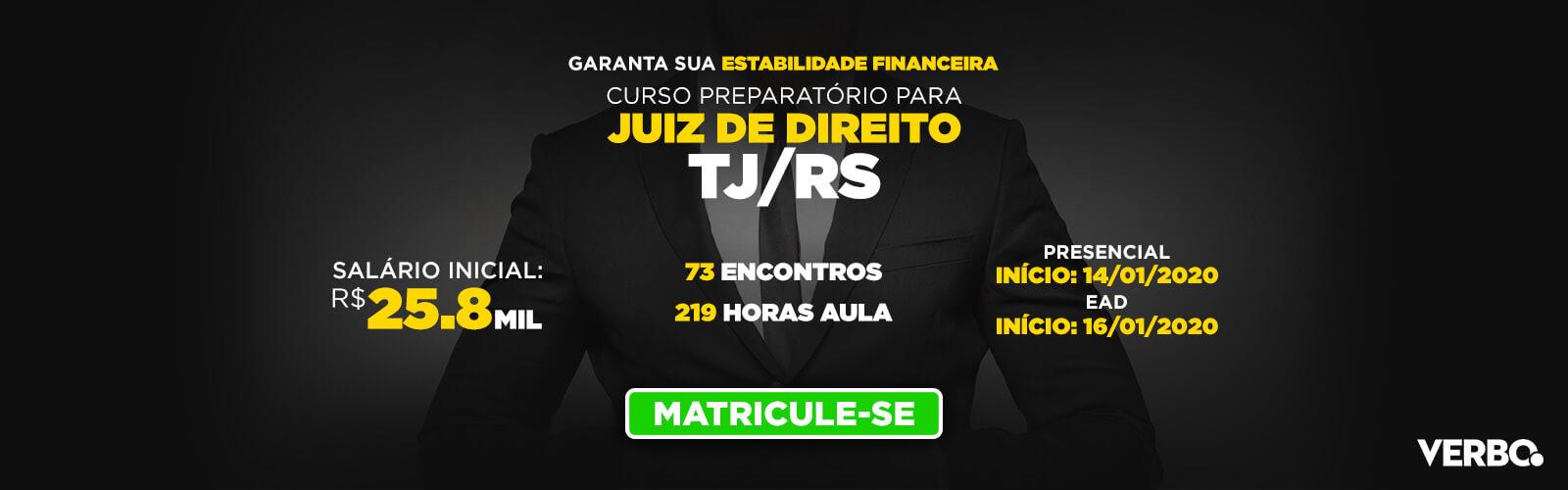 Juirz de Direito TJ/RS