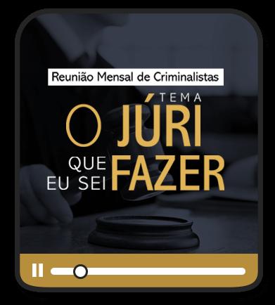 ESCOLA DE CRIMINALISTAS - O JÚRI QUE EU SEI FAZER