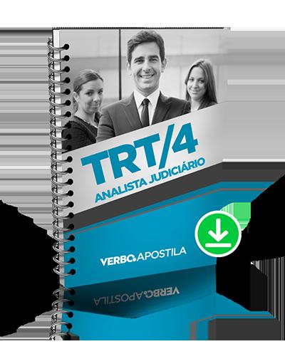 Apostila TRT/RS (4ª Região) - Analista Judiciário