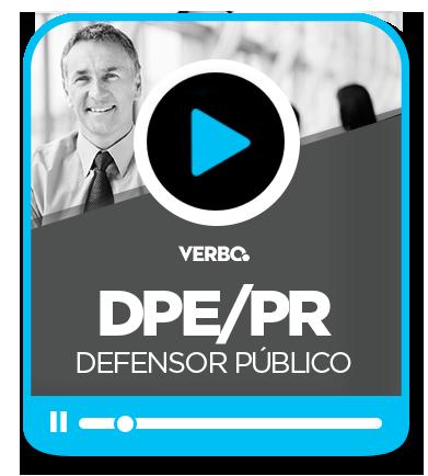 Defensor Público - DPE/PR