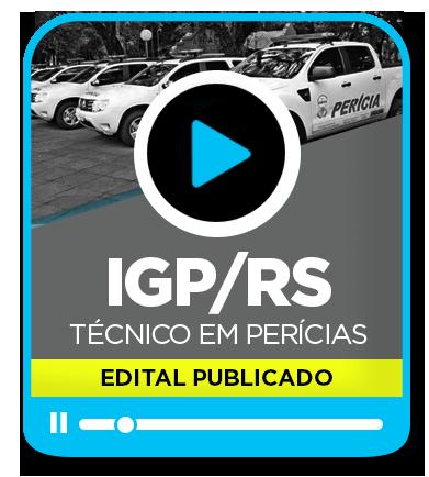 Técnico em Perícias - IGP/RS