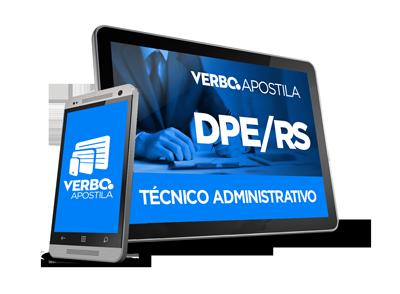 Apostila DPE/RS - Técnico Administrativo