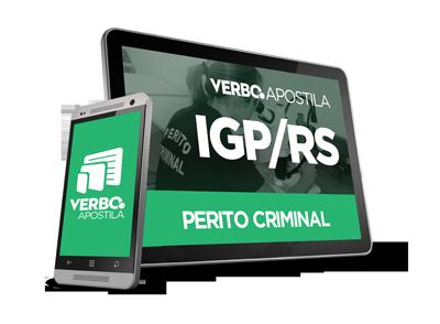 Apostila IGP/RS - Perito Criminal