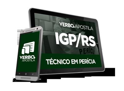 Apostila Concurso IGP/RS - Técnico em Perícia