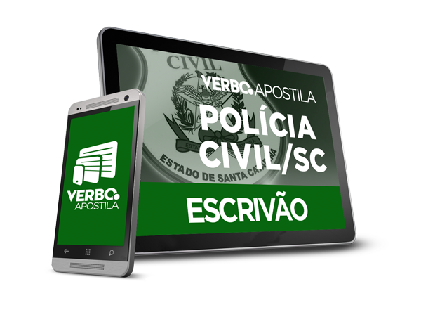 Apostila Escrivão de Polícia Civil/SC