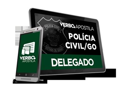 Apostila Delegado de Polícia Civil - Goiás