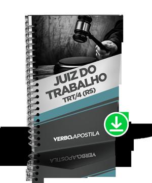 Apostila Juiz do Trabalho - 4ª Região (Rio Grande do Sul)