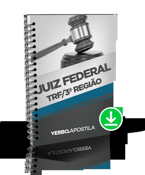 Apostila Juiz Federal - TRF da 3ª Região