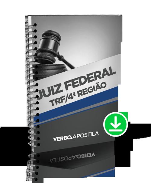 Apostila Juiz Federal - TRF da 4ª Região