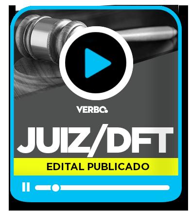 Juiz de Direito/DFT - Intensivo