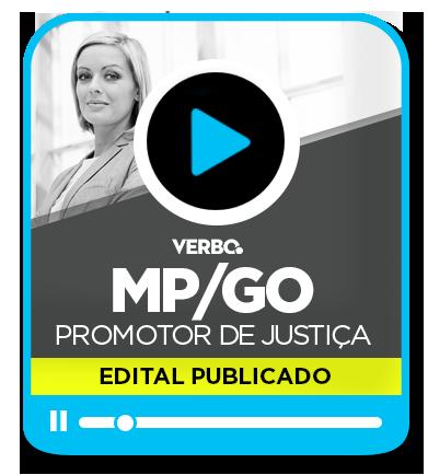 Promotor de Justiça - MP/GO