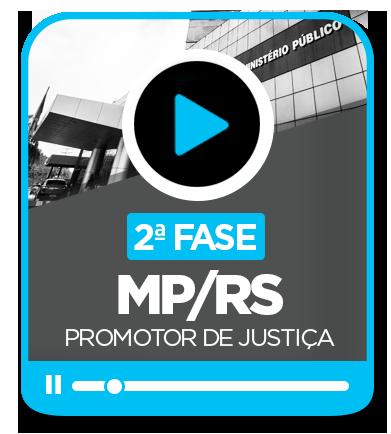 Promotor de Justiça/RS - (2ª fase)