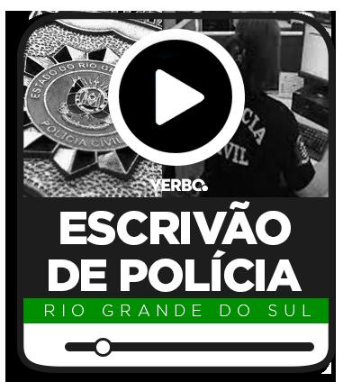 Escrivão de Polícia Civil - RS