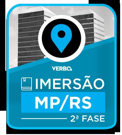 IMERSÃO MP/RS 2ª fase - PRESENCIAL