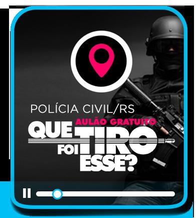 AULÃO PRÉ - PROVA POLÍCIA CIVIL