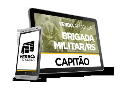 Apostila Capitão da Brigada Militar/RS
