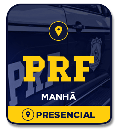 Policial Rodoviário Federal - PRF - Intensivo MANHÃ