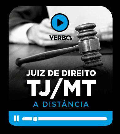Juiz de Direito - TJ/MT - EAD