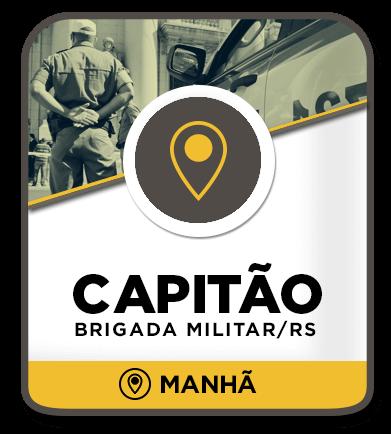 Capitão da Brigada Militar - Presencial Manhã