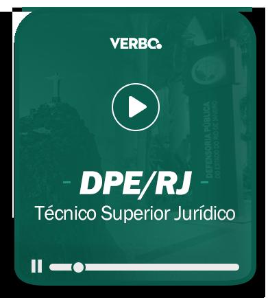 Técnico Superior Jurídico - DPE/RJ - EAD