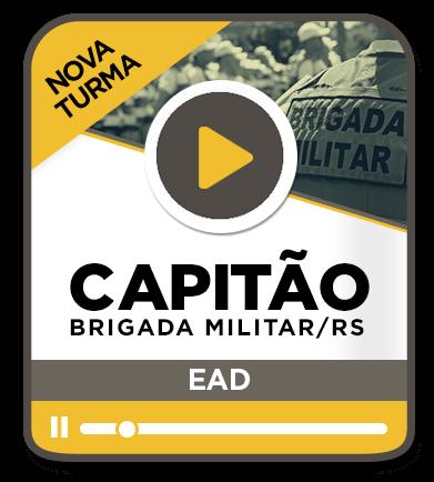 Capitão da Brigada Militar - EAD - Nova Turma