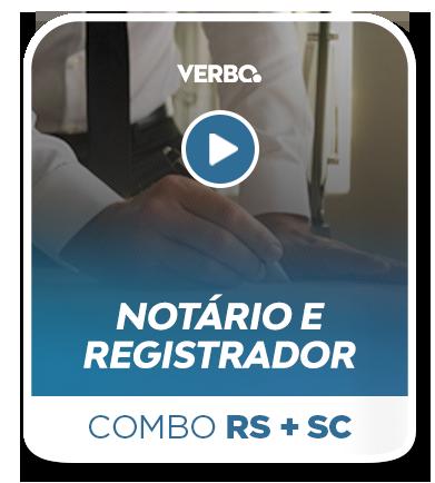 Combo - Cartório/TJRS + Cartório/TJSC
