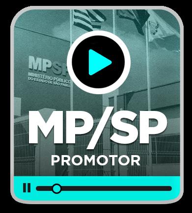 Promotor de Justiça - MP/SP - EAD