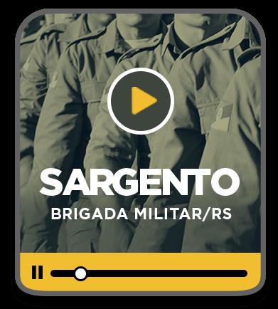 Sargento da Brigada Militar - RS - EAD