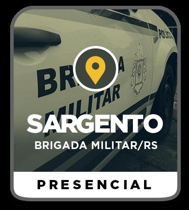 Sargento da Brigada Militar - RS