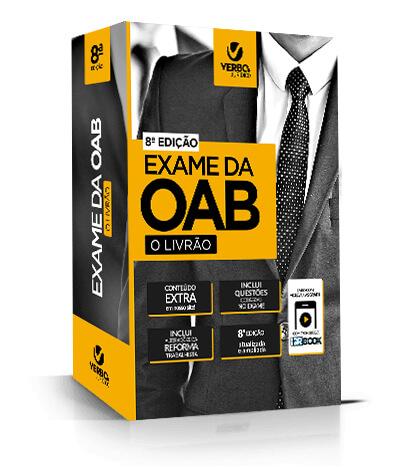 EXAME DA OAB - O LIVRÃO 8ª ED