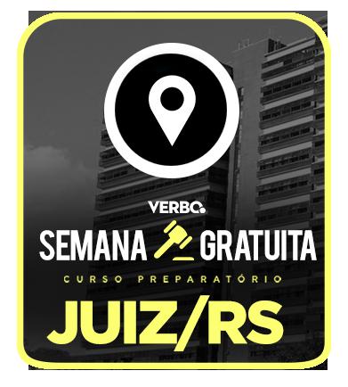 JUIZ de Direito TJRS - SEMANA GRÁTIS