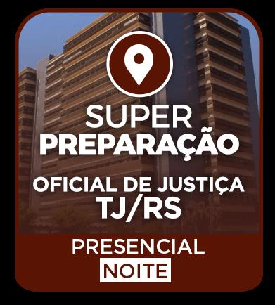 CURSO SUPER PREPARAÇÃO + REVISÃO + RESOLUÇÃO DE QUESTÕES - PRESENCIAL (NOITE)