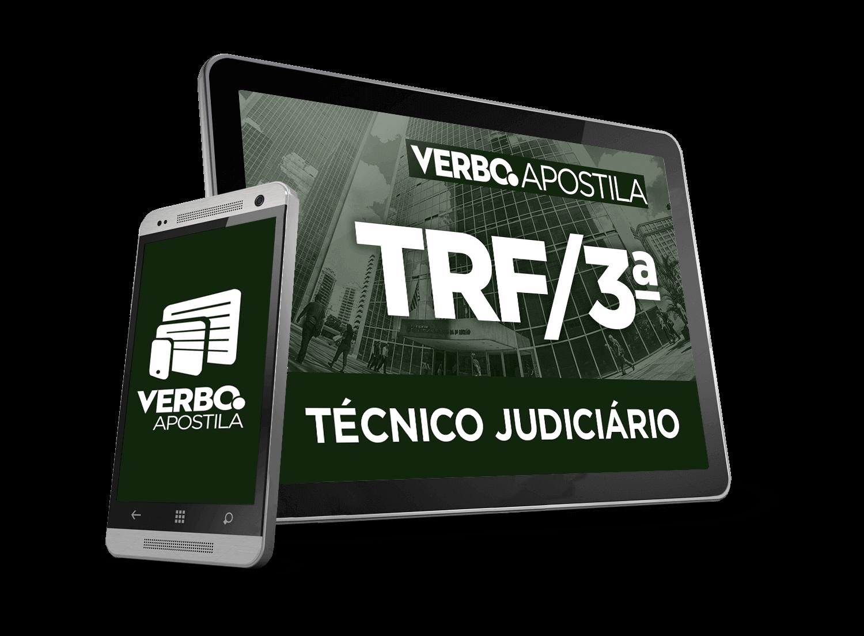 Apostila Técnico Judiciário - TRF 3ª Região