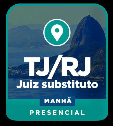 Juiz de Direito - TJ/RJ - Presencial - Manhã